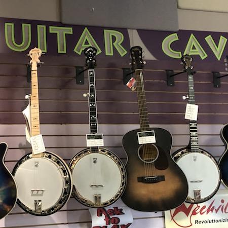 Banjo selection