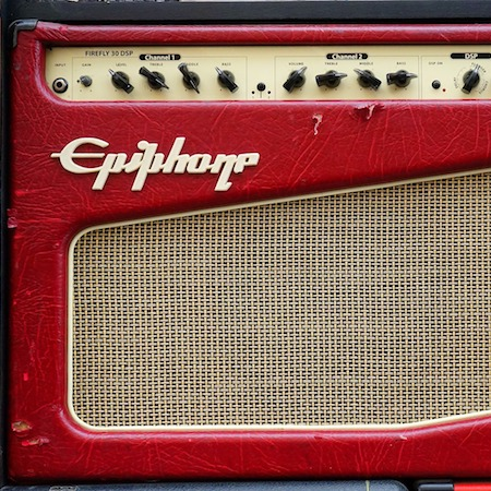 Guitar amplifier for repair