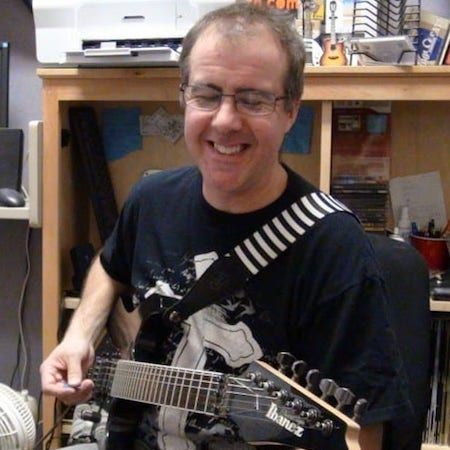 Guitar Instructor Mike